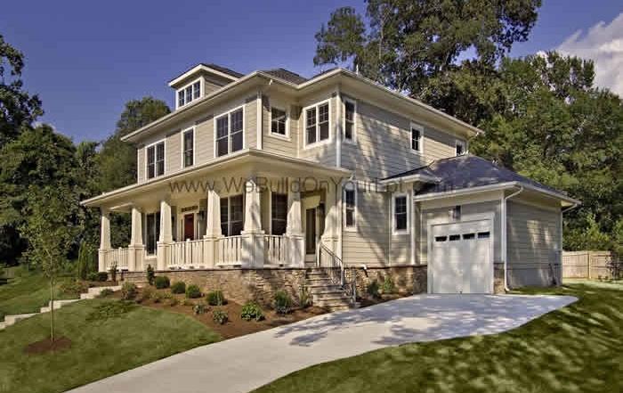 Stanley Martin Custom Homes | Amherst-V Exterior