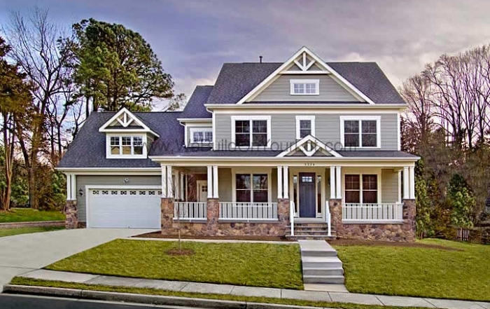 Stanley Martin Custom Homes | Amherst VII