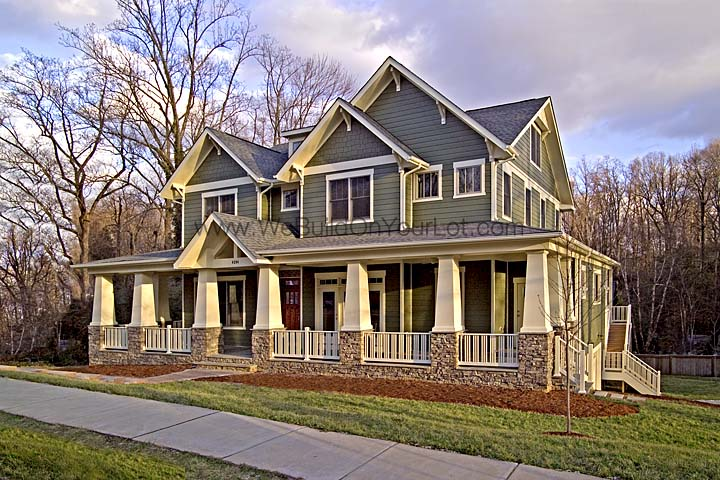 Craftsman style home builders northern virginia house for Custom craftsman home builders