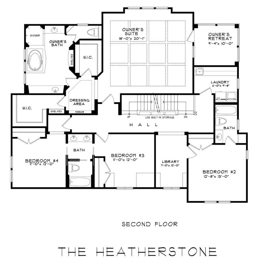 Heatherstone A We Build On Your Lot Stanley Martin