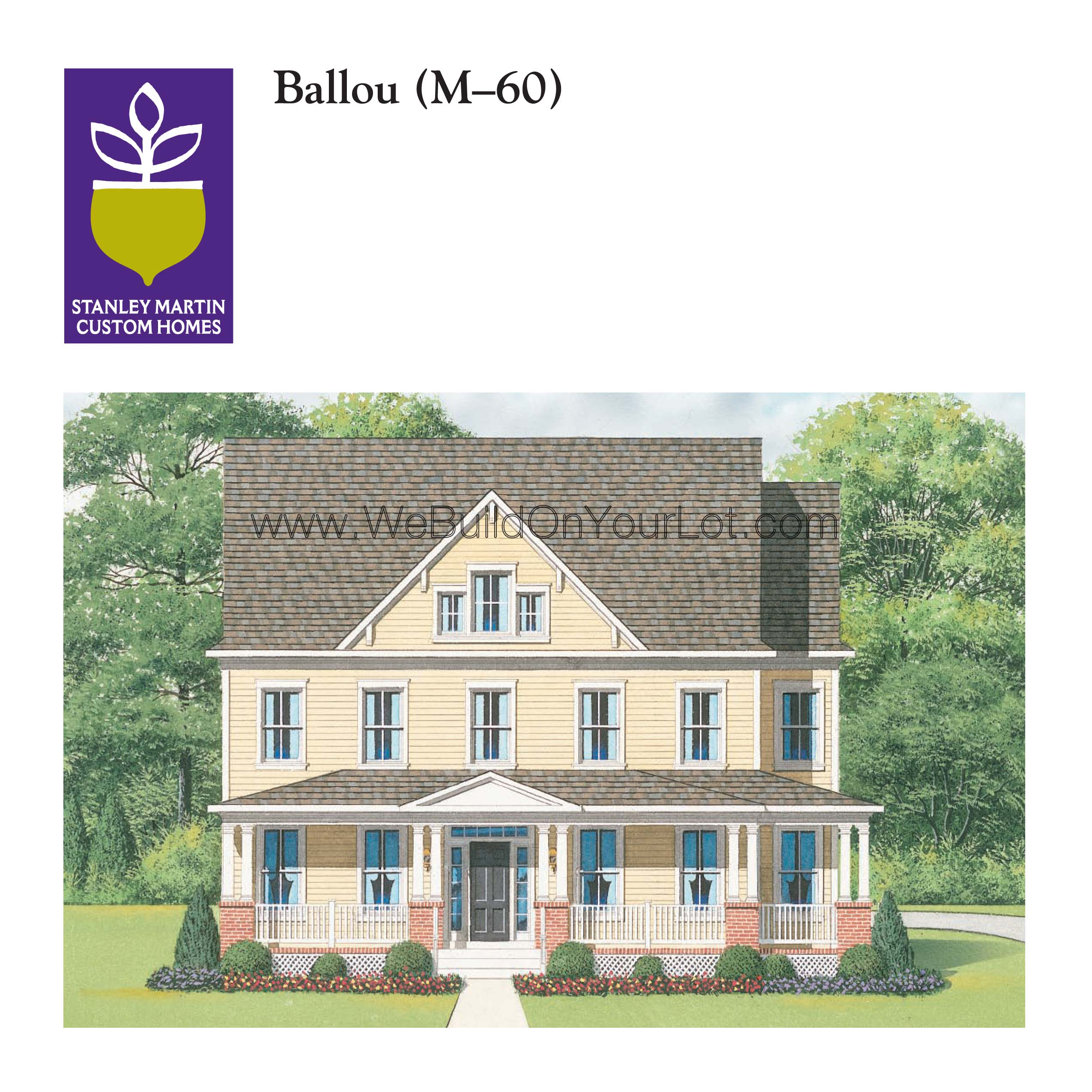 Ballou Stanley Martin Custom Homes Custom Homes In
