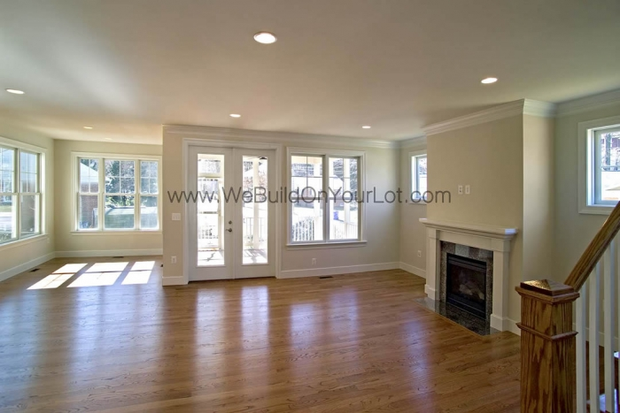 Amherst viii we build on your lot stanley martin for Amherst family room