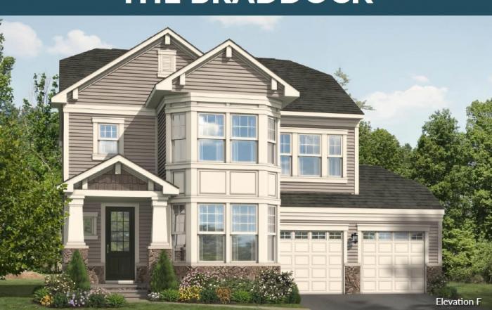 Stanley Martin Homes on Your Lot | Braddock Model
