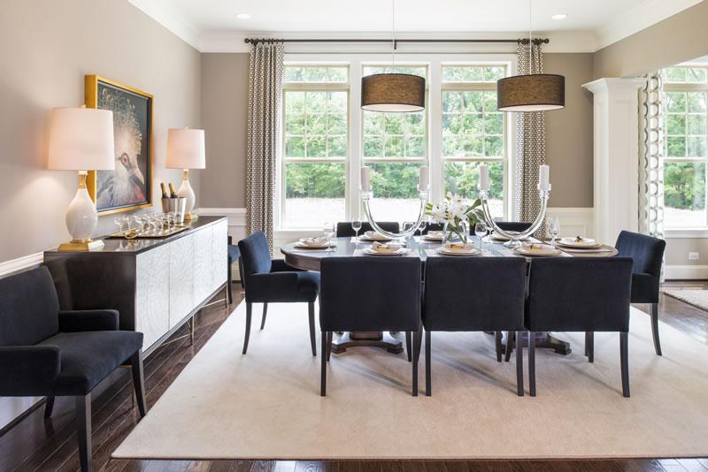 Gainsborough Model Dining Room   Stanley Martin Custom Homes Northern Virginia