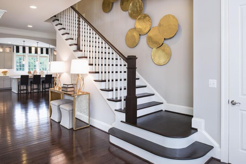Gainsborough Model Stairs   Stanley Martin Custom Homes Northern Virginia