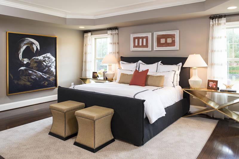 Gainsborough Model Master Bedroom   Stanley Martin Custom Homes Northern Virginia