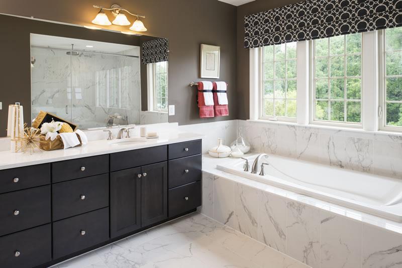 Gainsborough Model Master Bathroom   Stanley Martin Custom Homes Northern Virginia