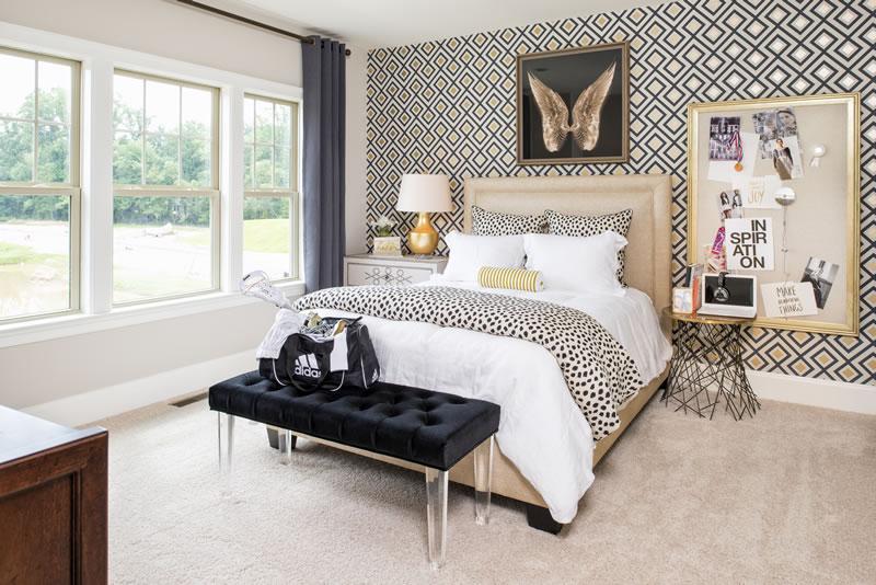 Gainsborough Model Bedroom   Stanley Martin Custom Homes Northern Virginia