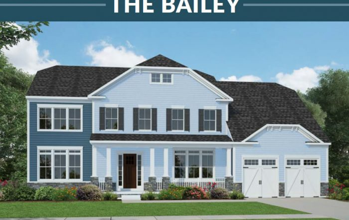 Stanley Martin Homes On Your Lot | Bailey Model