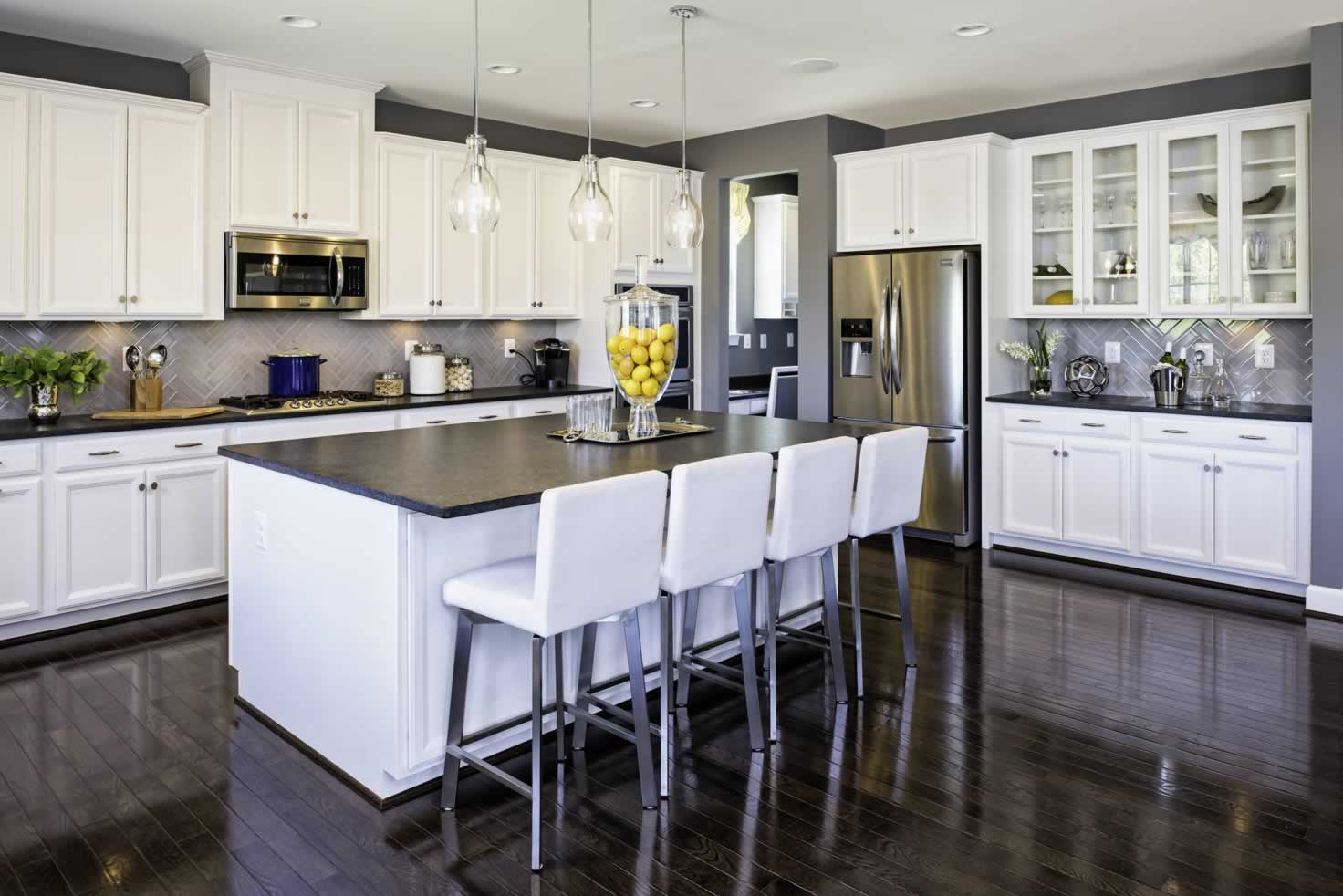 Stanley Martin Homes On Your Lot | Middleton Model Kitchen