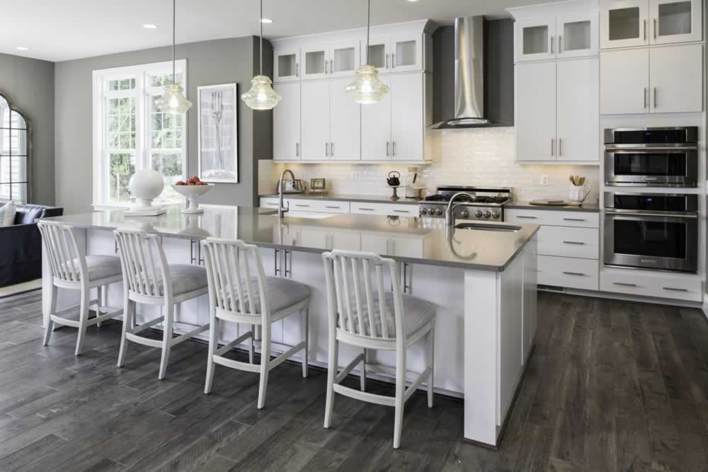 Stanley Martin Custom Homes | We Build On Your Lot | Travers Model Kitchen