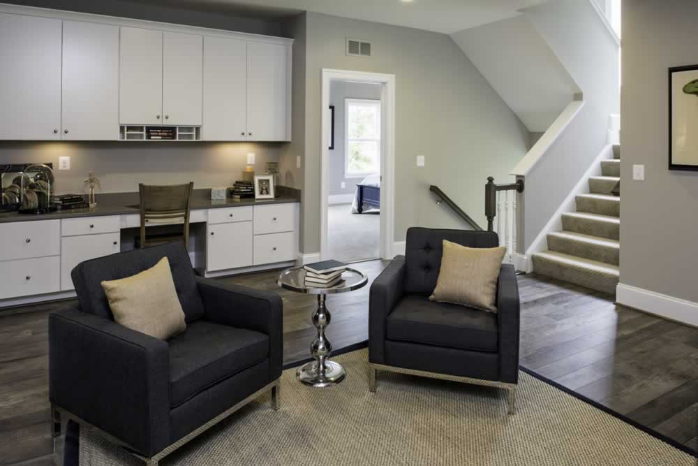 Stanley Martin Custom Homes | We Build On Your Lot | Travers Model Sitting Room