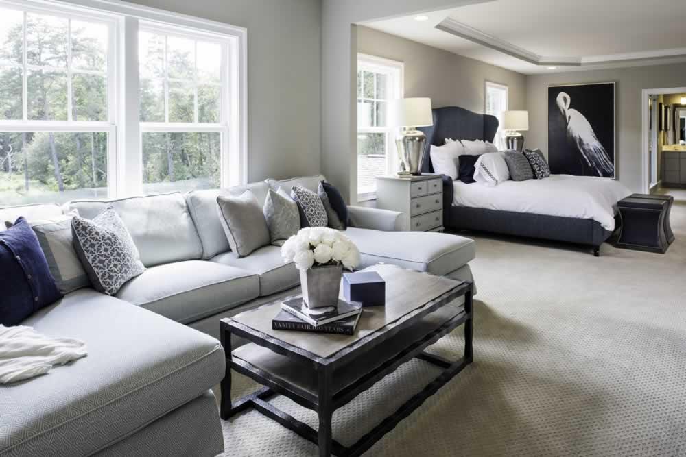 Stanley Martin Custom Homes | We Build On Your Lot | Travers Model Living Room