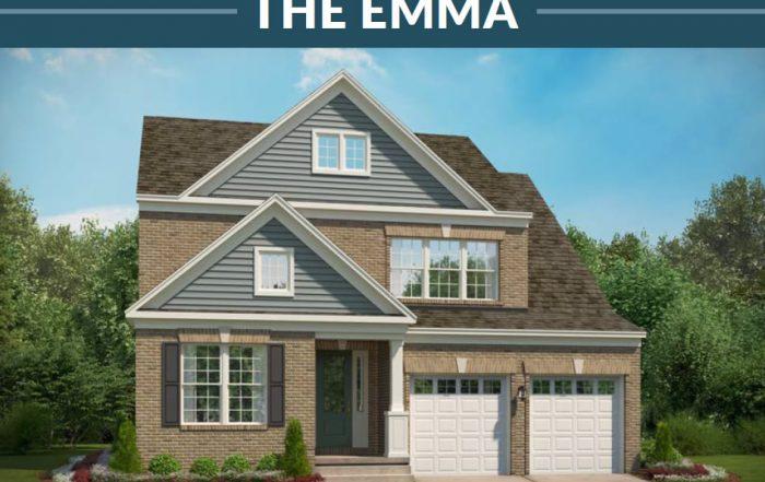 Stanley Martin Homes Built on Your Lot | Emma Model