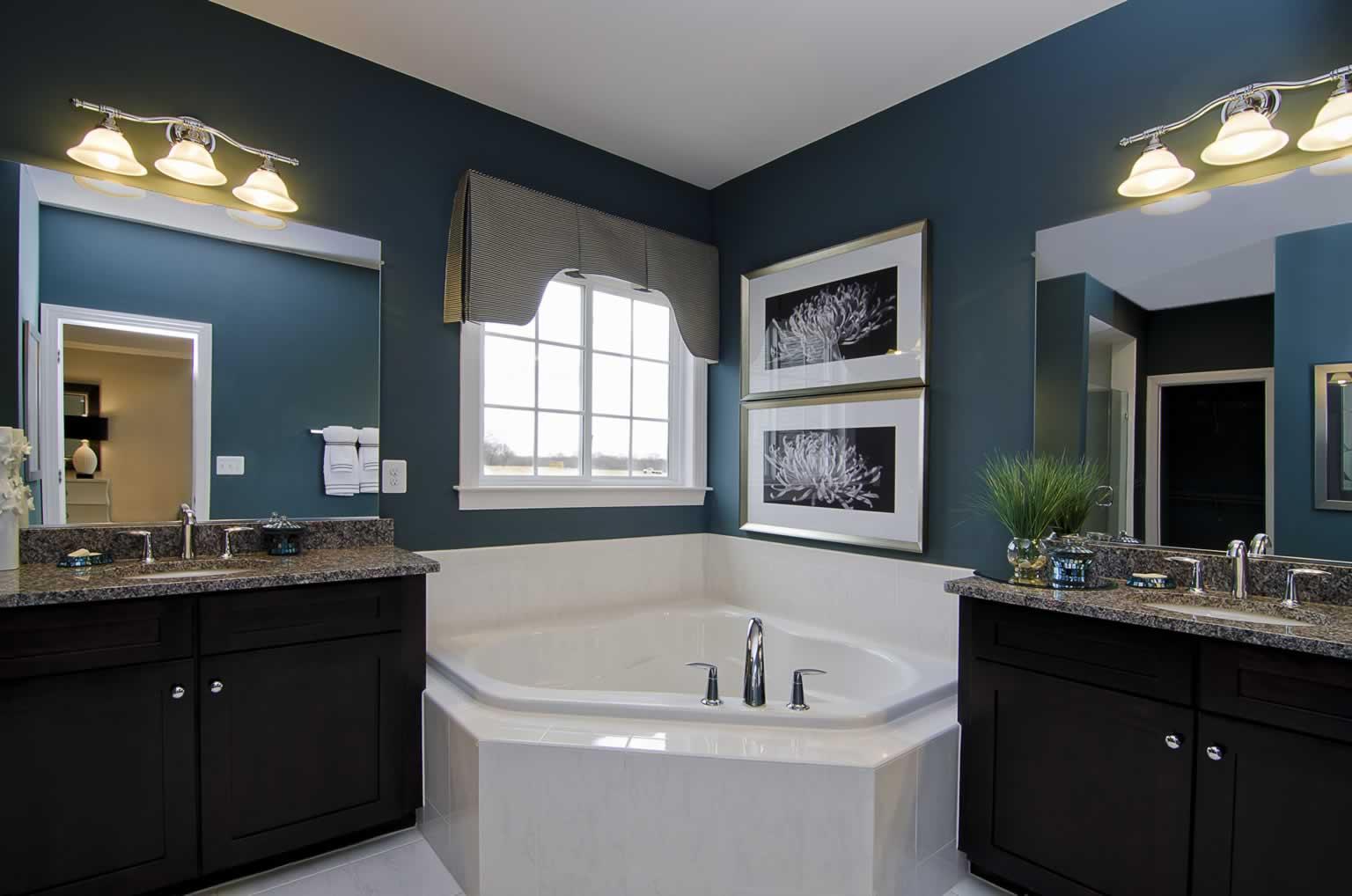 Stanley Martin Custom Homes | Sandhurst Master Bathroom