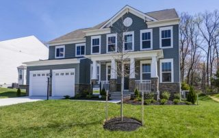 Stanley Martin Homes Built On Your Lot | Carey Model Exterior