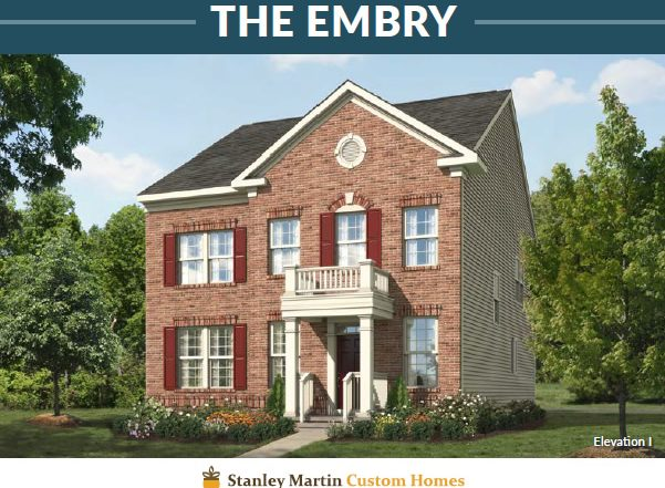 Stanley Martin Homes On Your Lot | Embry Model