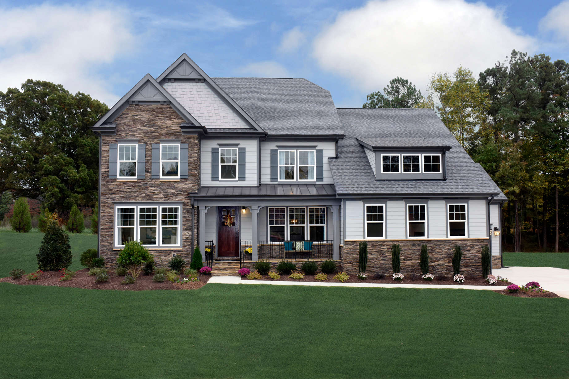 Build a Home On Your Lot in Virginia | Morgan Model from Stanley Martin Custom Homes