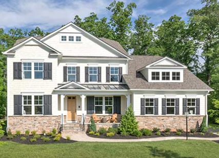 Stanley Martin Custom Homes can build a Morgan model on your lot in Northern Virginia or Montgomery County, MD.