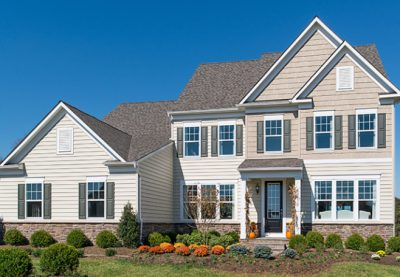 Stanley Martin Custom Homes can build a Peterson model on your lot in Northern Virginia or Montgomery County, Maryland.