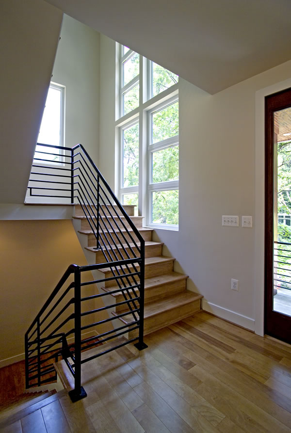 Stanley Martin Homes On Your Lot | Brooklyn Model | Brooklyn Model Stairs