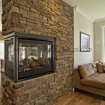 Stanley Martin Custom Homes | Brierly Fireplace