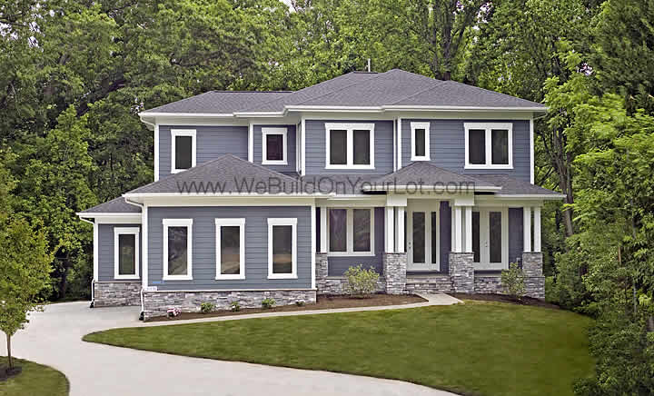 Westcott Exterior We Build On Your Lot Stanley Martin
