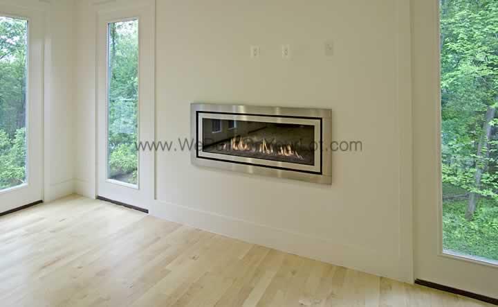 Stanley Martin Custom Homes | Westcott Indoor Fireplace