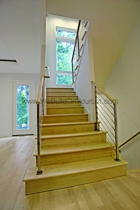 Stanley Martin Custom Homes | Westcott Staircase
