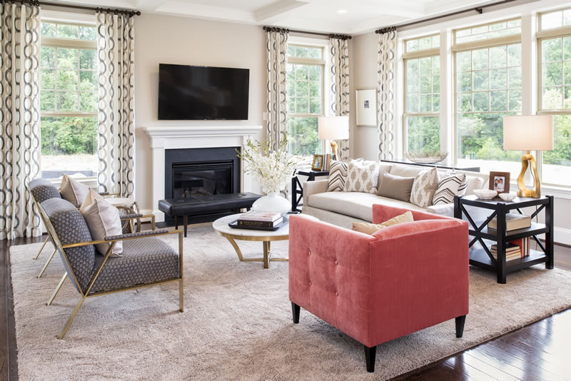 Gainsborough Model Family Room | Stanley Martin Custom Homes Northern Virginia