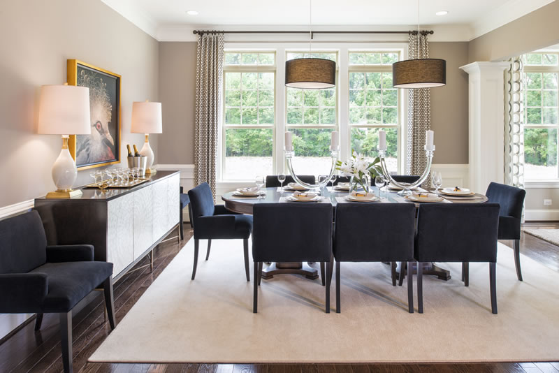 Gainsborough Model Dining Room | Stanley Martin Custom Homes Northern Virginia