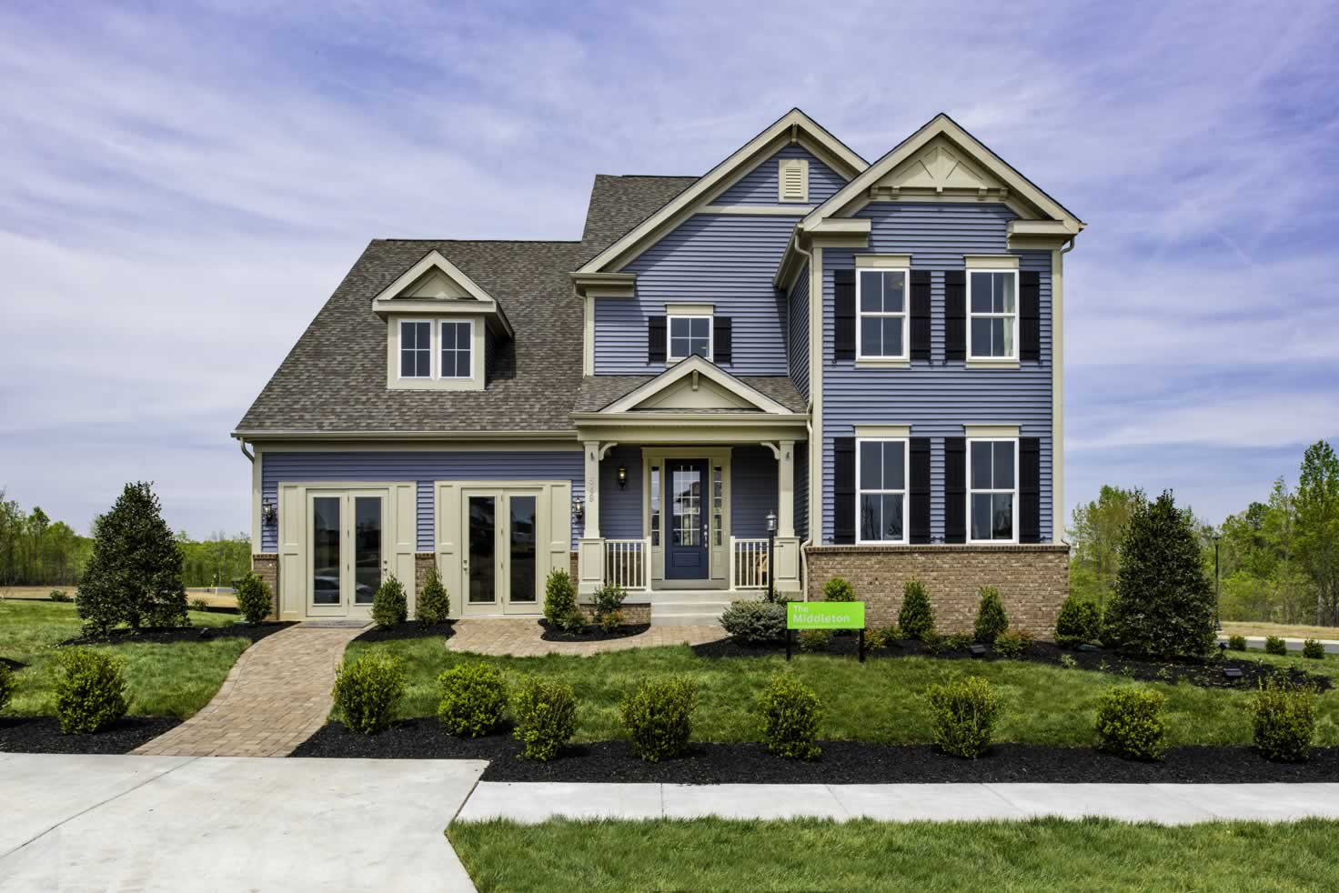 Build a Home on Your Lot   Middleton Model from Stanley Martin Custom Homes
