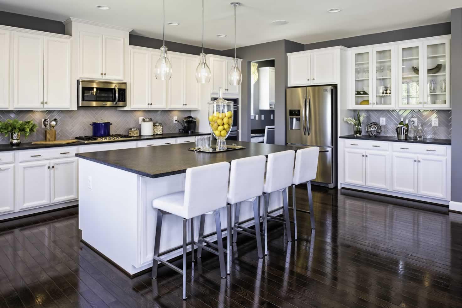 Stanley Martin Homes On Your Lot   Middleton Model Kitchen