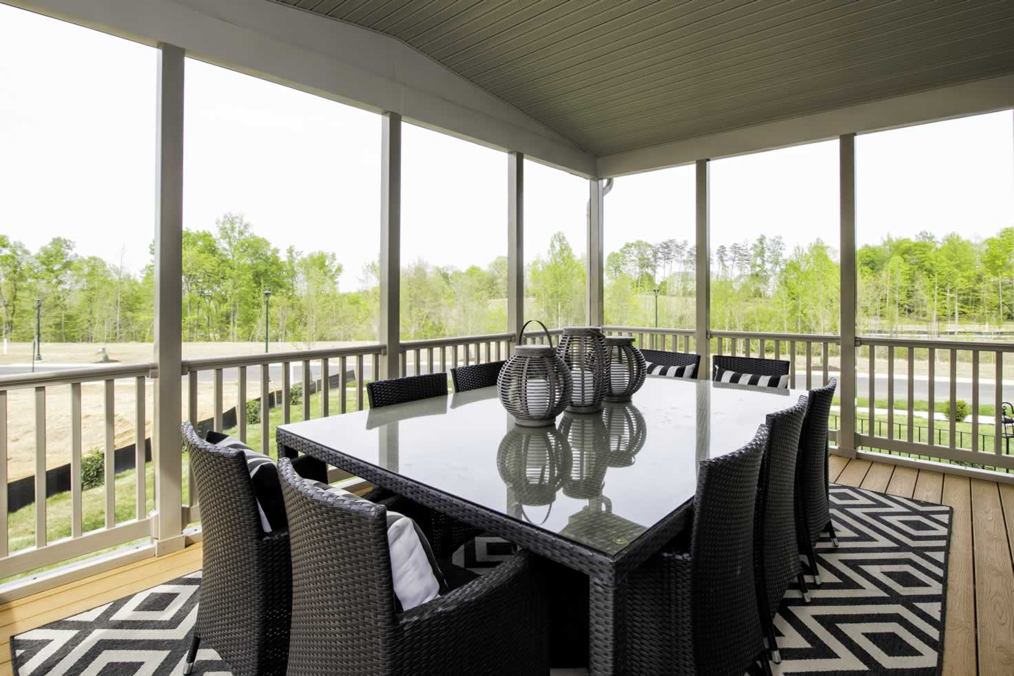 Stanley Martin Homes On Your Lot   Middleton Model Porch