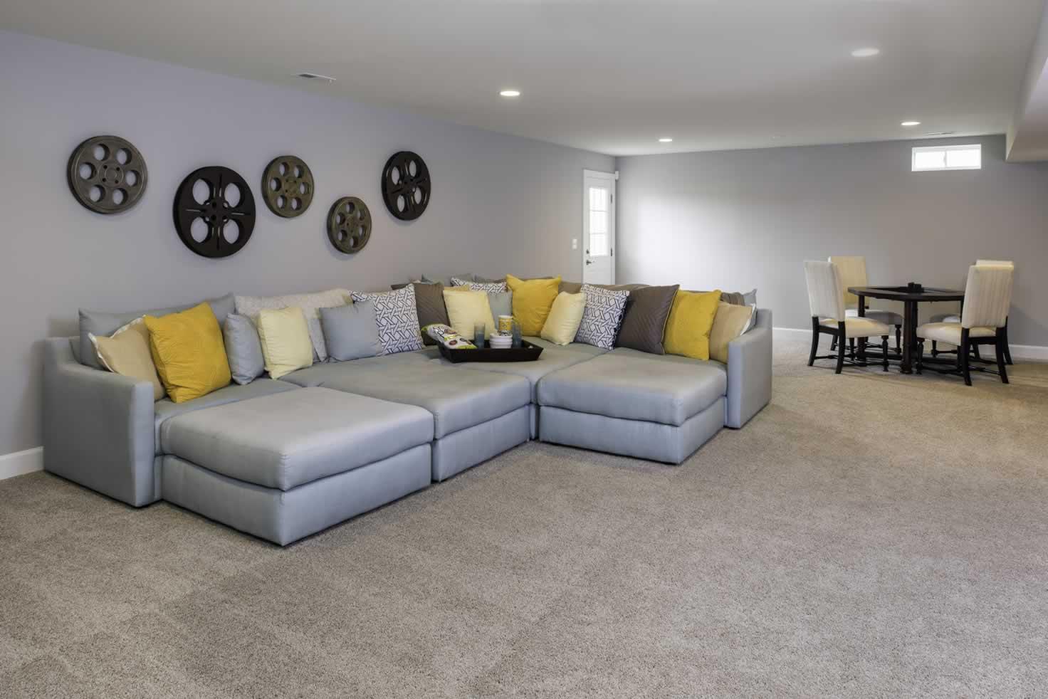 Stanley Martin Homes On Your Lot   Middleton Model Rec Room