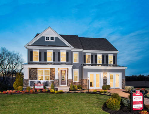 Build a new home on your lot in Virginia and Maryland | Lindsey Model from Stanley Martin Custom Homes