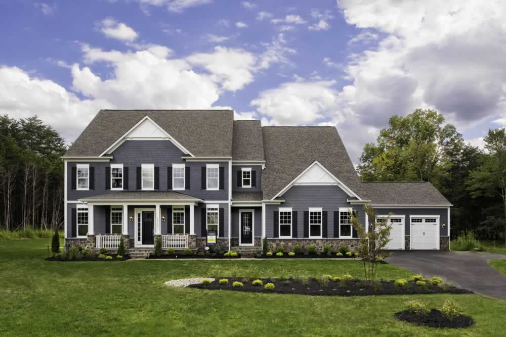 Stanley Martin Custom Homes | We Build On Your Lot | Travers Model Exterior