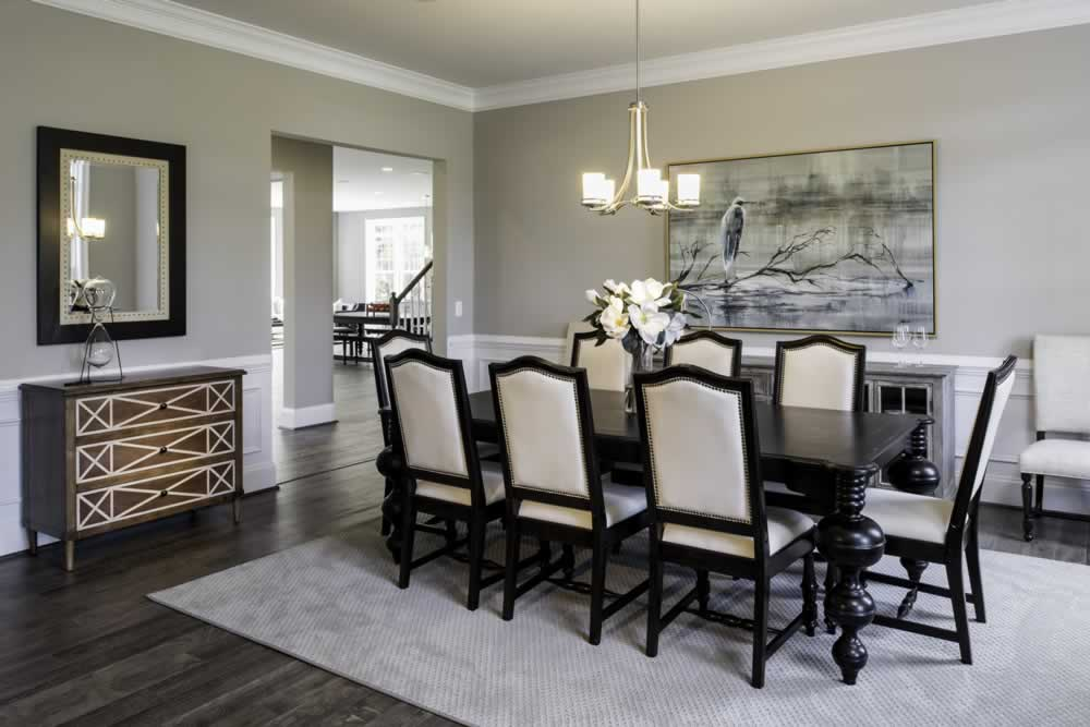 Stanley Martin Custom Homes | We Build On Your Lot | Travers Model Dining Room