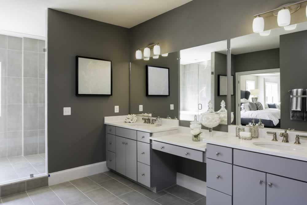 Stanley Martin Custom Homes | We Build On Your Lot | Travers Model Master Bath
