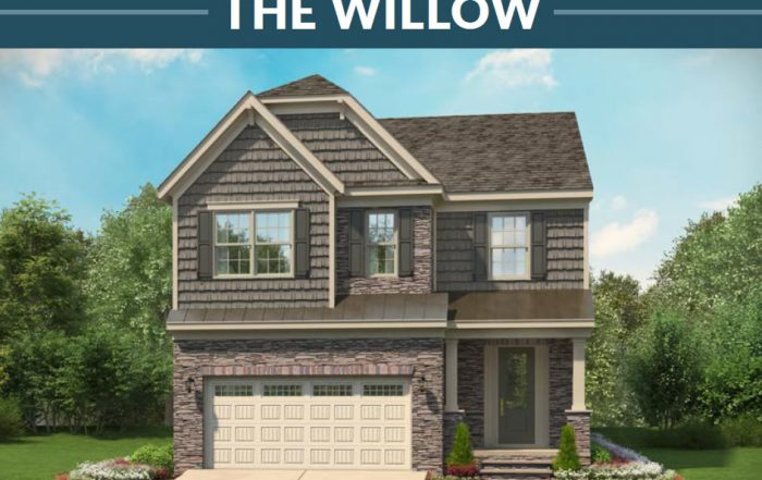 Stanley Martin Homes On Your Lot | Willow Model