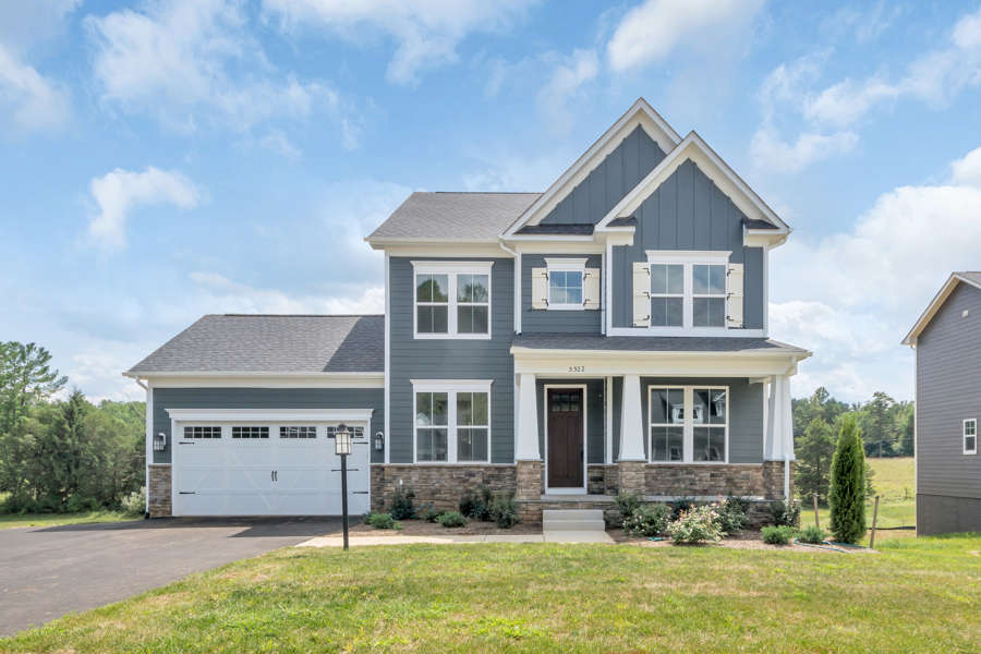 Build a new home on your lot in Virginia and Maryland | Irvington Model from Stanley Martin Custom Homes