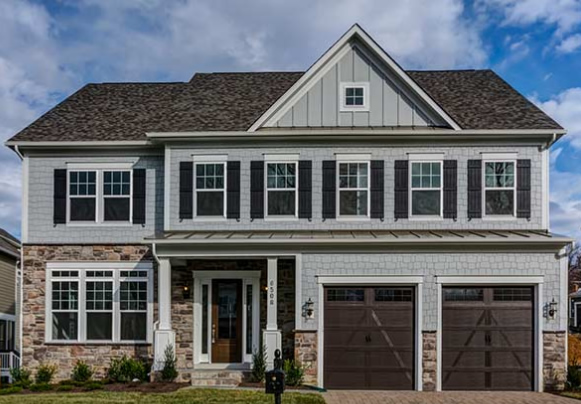 Build a Home On Your Lot in Virginia | Dartmouth Model from Stanley Martin Custom Homes