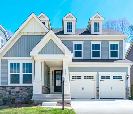 Stanley Martin Custom Homes | Durham Model