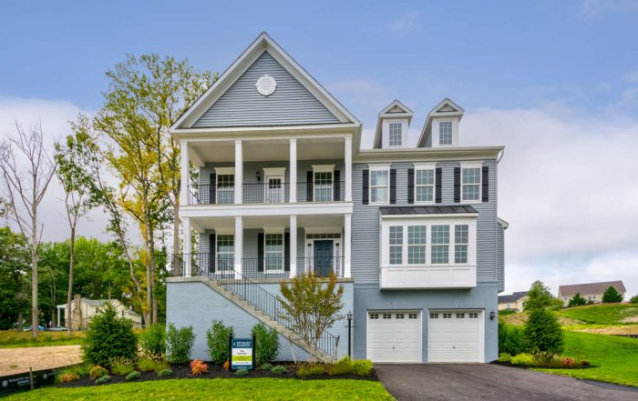 Build a new home on your lot in Virginia and Maryland | Harrison Model from Stanley Martin Custom Homes