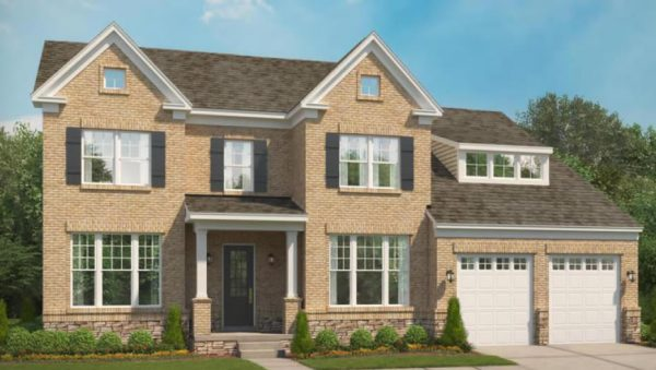 Stanley Martin Custom Homes can build a Hunter model on your lot in NoVa or MoCo.