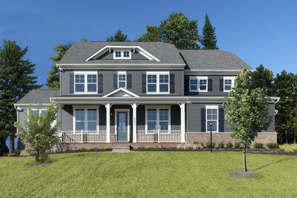 Stanley Martin Custom Homes can build an Kasey model on your lot in Northern Virginia or Montgomery County, Maryland.