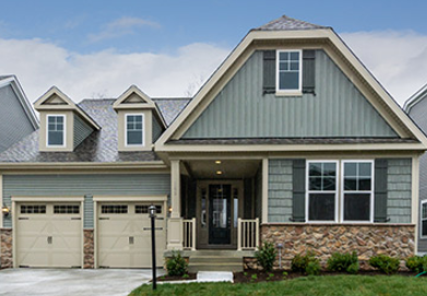 Stanley Martin Custom Homes can build a Hanover model on your lot in Northern Virginia or Montgomery County, Maryland.