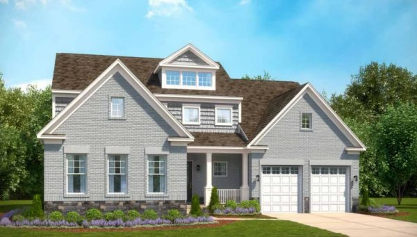 Stanley Martin Custom Homes can build a Russell model on your lot in NoVa or MoCo.